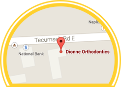 Tecumseh Ontario Orthodontist - Dionne Orthodontics Office